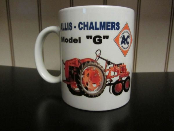 ALLIS CHALMERS G COFFEE MUG