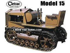 CLETRAC 15 TEE SHIRT