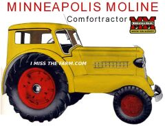 MINNEAPOLIS MOLINE COMFORTRACTOR TEE SHIRT