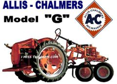 ALLIS CHALMERS G SWEATSHIRT