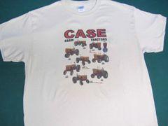 "CASE ""1957 FARM TRACTORS"" IMAGE #1 TEE SHIRT"