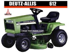 DEUTZ-ALLIS 612 TEE SHIRT