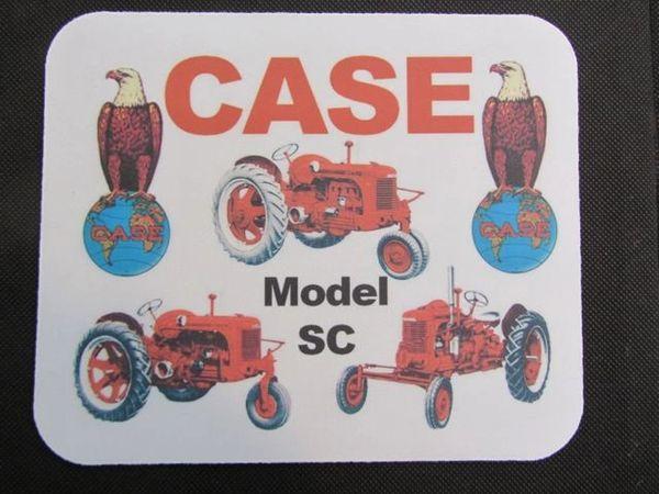 CASE SC TRILOGY MOUSEPAD