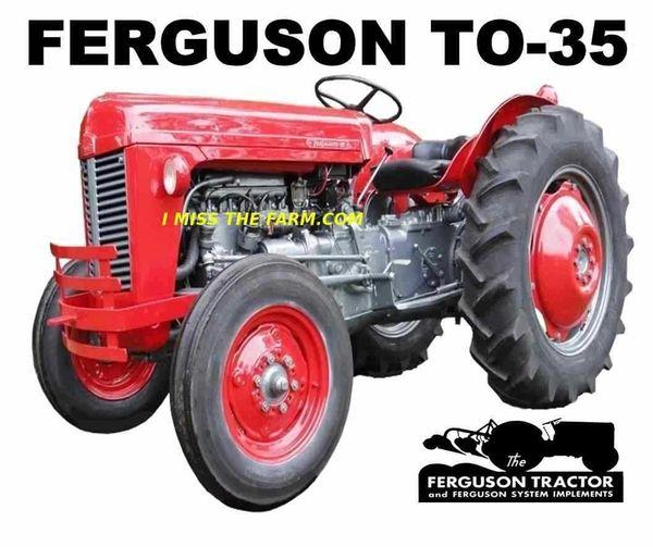 FERGUSON TO-35 (RED) tee shirt