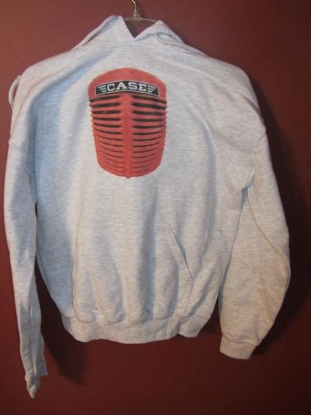 CASE GRILL HOODED SWEATSHIRT