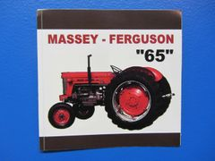 MASSEY FERGUSON 65 Bumper sticker