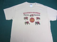 MASSEY HARRIS FARM TRACTORS TEE SHIRT