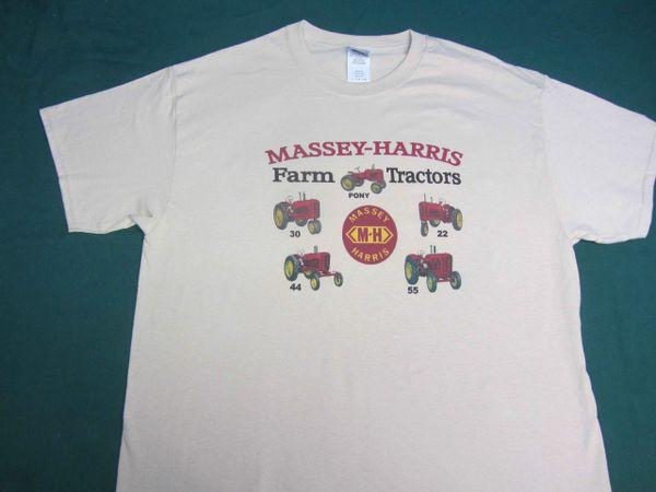 MASSEY HARRIS FARM TRACTORS TEE SHIRT