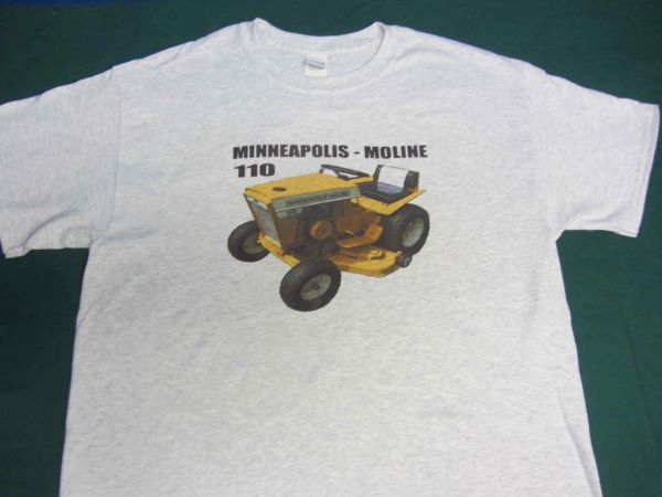 MINNEAPOLIS MOLINE 110 TEE SHIRT