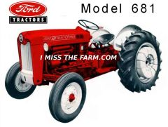 FORD 681 TEE SHIRT