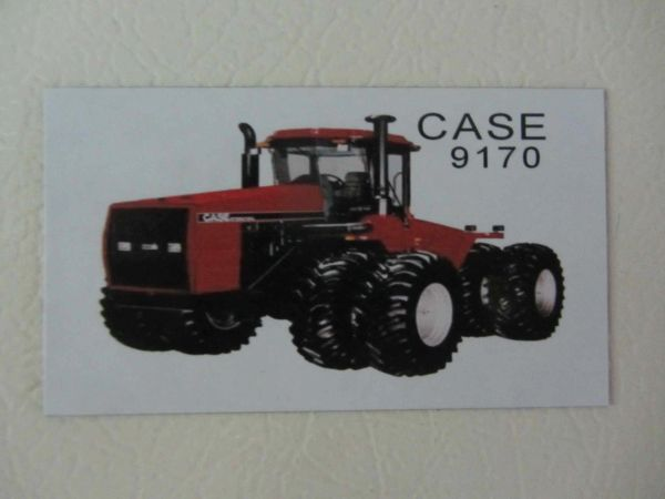 CASE IH 9170 Fridge/toolbox magnet