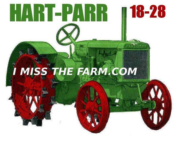 HART PARR 18-28 TEE SHIRT