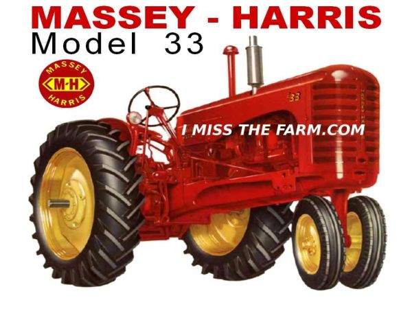MASSEY HARRIS 33 NF SWEATSHIRT