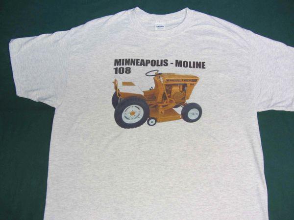 MINNEAPOLIS MOLINE 108 TEE SHIRT