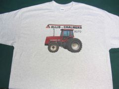 ALLIS CHALMERS 8070 4X4 WITH DUALS Tractor tee shirt