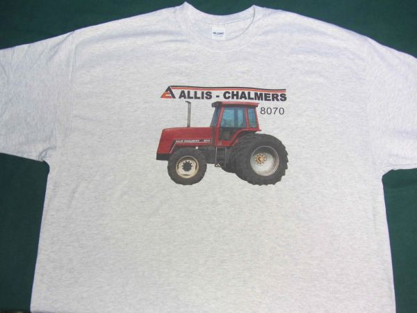 ALLIS CHALMERS 8070 4X4 WITH DUALS TEE SHIRT