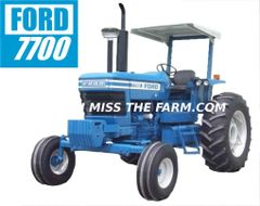 FORD 7700 (2 POST) TEE SHIRT