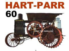 HART PARR 60 tee shirt