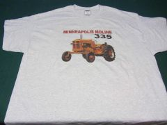 MINNEAPOLIS MOLINE 335 TEE SHIRT
