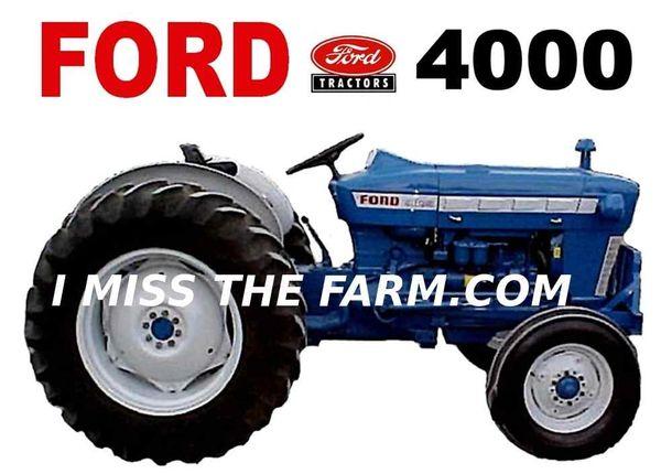 FORD 4000 (IMAGE #1) TEE SHIRT