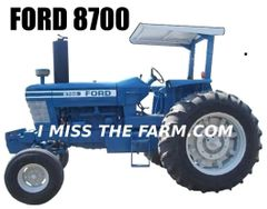 FORD 8700 2 POST Sweatshirt