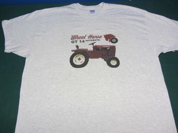 WHEEL HORSE 310-8 Tractor tee shirt