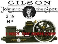 GILSON 2 1/2 HP ENGINE TEE SHIRT