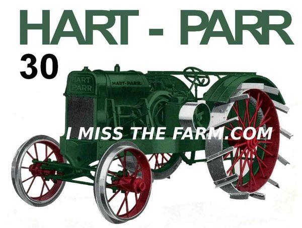 HART PARR 30 tee shirt