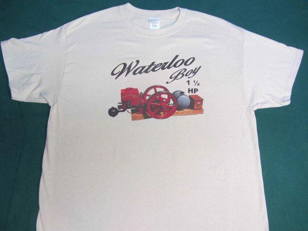 WATERLOO BOY ENGINE TEE SHIRT