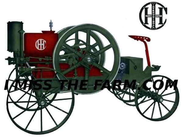 IH WAGON ENGINE TEE SHIRT