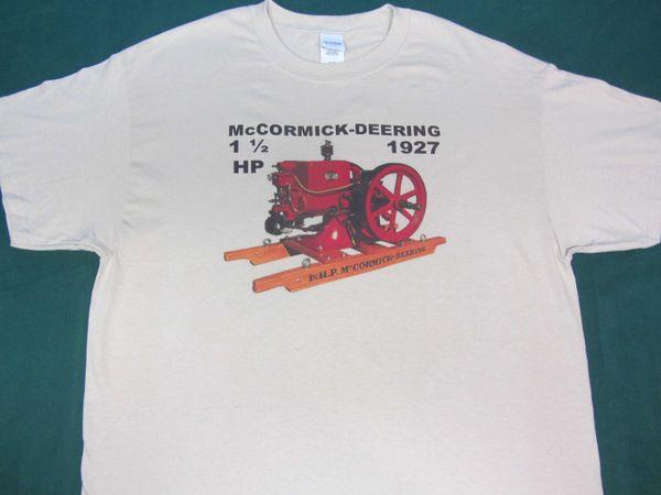 McCORMICK DEERING ENGINE TEE SHIRT