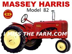 MASSEY HARRIS 82 TEE SHIRT