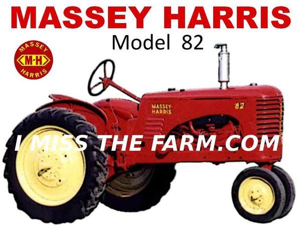 MASSEY HARRIS 82 TEE SHIRT
