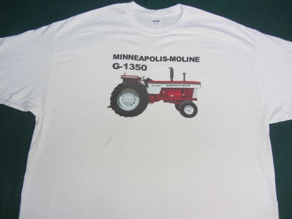 MINNEAPOLIS MOLINE G 1350 TEE SHIRT