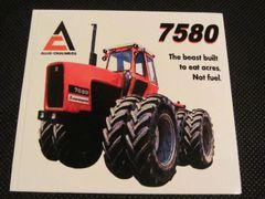 ALLIS CHALMERS 7580 Bumper sticker