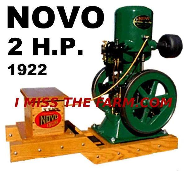 NOVO 2 HP ENGINE TEE SHIRT