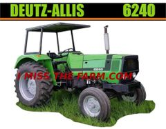 DEUTZ-ALLIS 6240 Tractor tee shirt