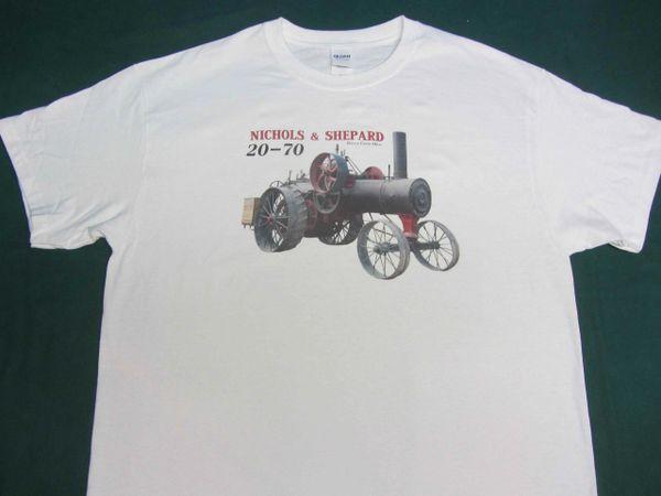 NICHOLS & SHEPARD 20-70 TEE SHIRT