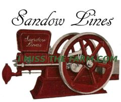 SANDOW LINES ENGINE TEE SHIRT