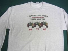 OLIVER ROW CROP THREE BEAUTIES Sweatshirt