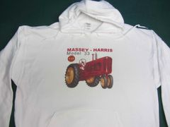 MASSEY HARRIS 33 NF HOODED SWEATSHIRT