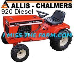 ALLIS CHALMERS 920 DIESEL TEE SHIRT
