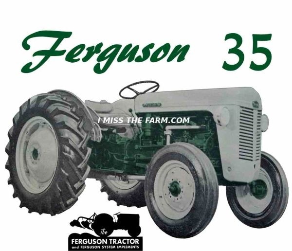 FERGUSON TO-35 (GREEN) KEYCHAIN