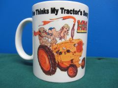 "MINNEAPOLIS MOLINE ""SHE THINKS MY TRACTOR'S SEXY"" (IMAGE #1) COFFEE MUG"