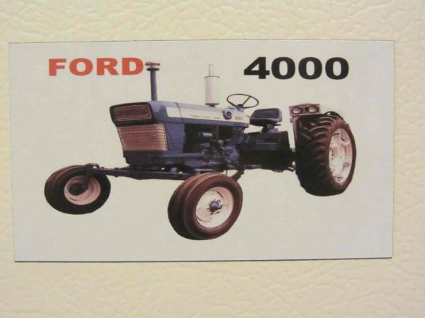 FORD 4000 (image #2) Fridge/toolbox magnet