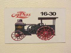 RUMELY 16-30 Fridge/toolbox magnet