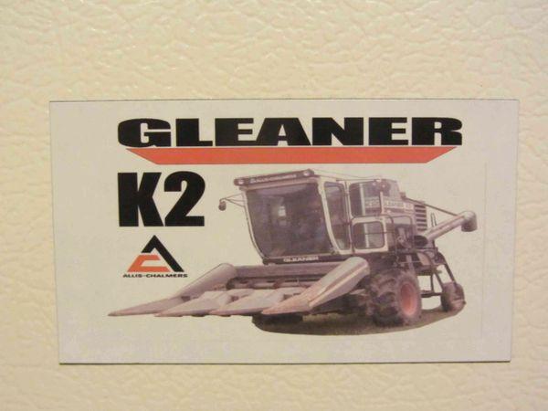 GLEANER K2 Fridge/toolbox magnet