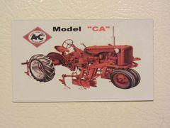 ALLIS CHALMERS CA Fridge/toolbox magnet