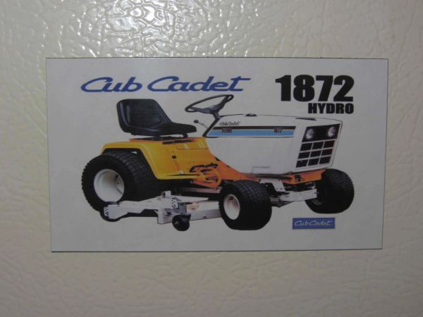 CUB CADET 1872 Fridge/toolbox magnet