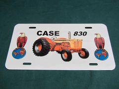 CASE 830 LICENSE PLATE